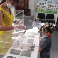 В Темясовском историко-краеведческом музее открылась выставка, посвящённая 75-летию Великой Победы и Дню памяти и скорби