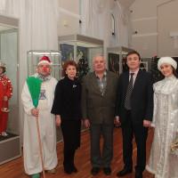 В преддверии Новогодних праздников в Национальном музее Республики Башкортостан открылась ретро-выставка «Про Новый год».
