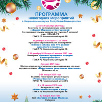 Новогодние мероприятия в Национальном музее Республики Башкортостан.