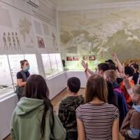 31 марта 2021 года Национальный музей провел культурно-образовательное мероприятие «Легенды древнего вождя» для учащихся МОБУ СОШ №14.