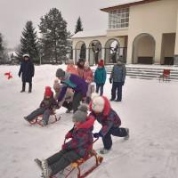 Музей Салавата Юлаева провёл детские зимние игры