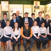 В Дюртюлинском историко-краеведческом музее прошла творческая встреча с поэтом Рафаилем Хафизовым
