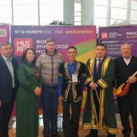 Сотрудник Национального музея Республики Башкортостан принял участие в работе форума этнической музыки «Мусафир»