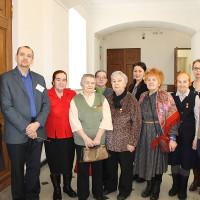 Дети блокадного Ленинграда и их потомки посетили Национальный музей Республики Башкортостан