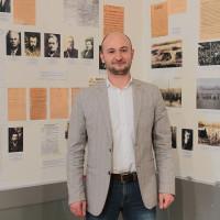 Национальный музей РБ посетил правнук Александра Дмитриевича Цюрупа