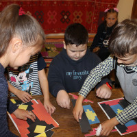 7 октября 2020 г. отдел этнографии провел занятия с игровыми элементами «Бабушкин сундучок»