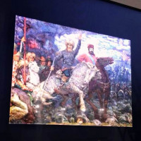 В Музее Салавата Юлаева школьники познакомились с образом Салавата Юлаева в живописи Алексея Кудрявцева