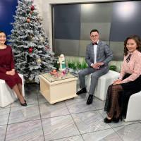 Сотрудник Национального музея Республики Башкортостан ознакомила телезрителей с редкими новогодними игрушками