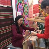 Темясовский историко-краеведческий музей приглашает на выставку народных домотканых изделий