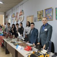 26 октября 2019 года в рамках VII Межрегионального фестиваля детского творчества «Ломая барьеры» в Конгресс-Холле «Торатау» прошла выставка Национального музея Республики Башкортостан «Музей без барьеров»
