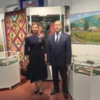 23 апреля состоялось открытие выставки из Национального музея Республики Башкортостана «Этнос и культура народов Поволжья. Башкиры».