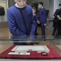 19 марта в Национальном музее состоялось открытие выставки военной реликвии — боевого Знамени 112-й Башкирской кавалерийской дивизии