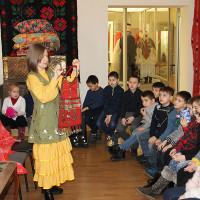 Занятия по знакомству с материальной культурой башкирского народа для учащихся лицея №5 г. Уфы