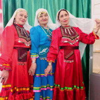 В Темясовском историко-краеведческом музее прошло мероприятие «Затлы күлдәк», посвящённое башкирскому национальному костюму