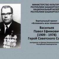 Серия «Вспомнить всех поименно». «Герой Советского Союза Васильев Павел Ефимович»