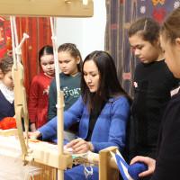 В Национальном музее Республики Башкортостан проводятся мастер-классы по ткачеству – народному виду искусства и ремесла.