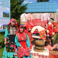 Музей Салавата Юлаева представил башкирскую юрту на сабантуе в городе Екатеринбург