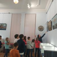 В Национальном музее Республики Башкортостан ребята познакомились с минералами и горными породами Южного Урала