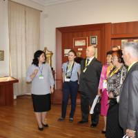 14 августа 2019 г. Национальный музей Республики Башкортостан посетили делегаты из субъектов Российской Федерации