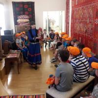 11 июня 2019 г. сотрудники отдела этнографии провели четыре занятия с игровыми элементами «Бабушкин сундучок» с учащимися Центра образования №159 города Уфы