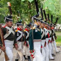 Сотрудник Национального музея принял участие в историческом фестивале «Времена и эпохи» в г. Москва