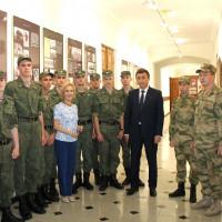 Сотрудники Национального музея РБ провели экскурсию для военнослужащих 29 отдельного отряда специального назначения имени генерал-майора М.М. Шаймуратова