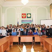 В Литературной гостиной Национального музея Республики Башкортостан обсудили вопросы экологической культуры молодежи