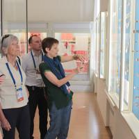 Национальный музей РБ посетили почетные делегаты 53-х летних Международных детских игр